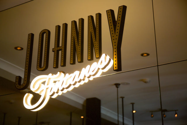 Johnny Fontane's bar