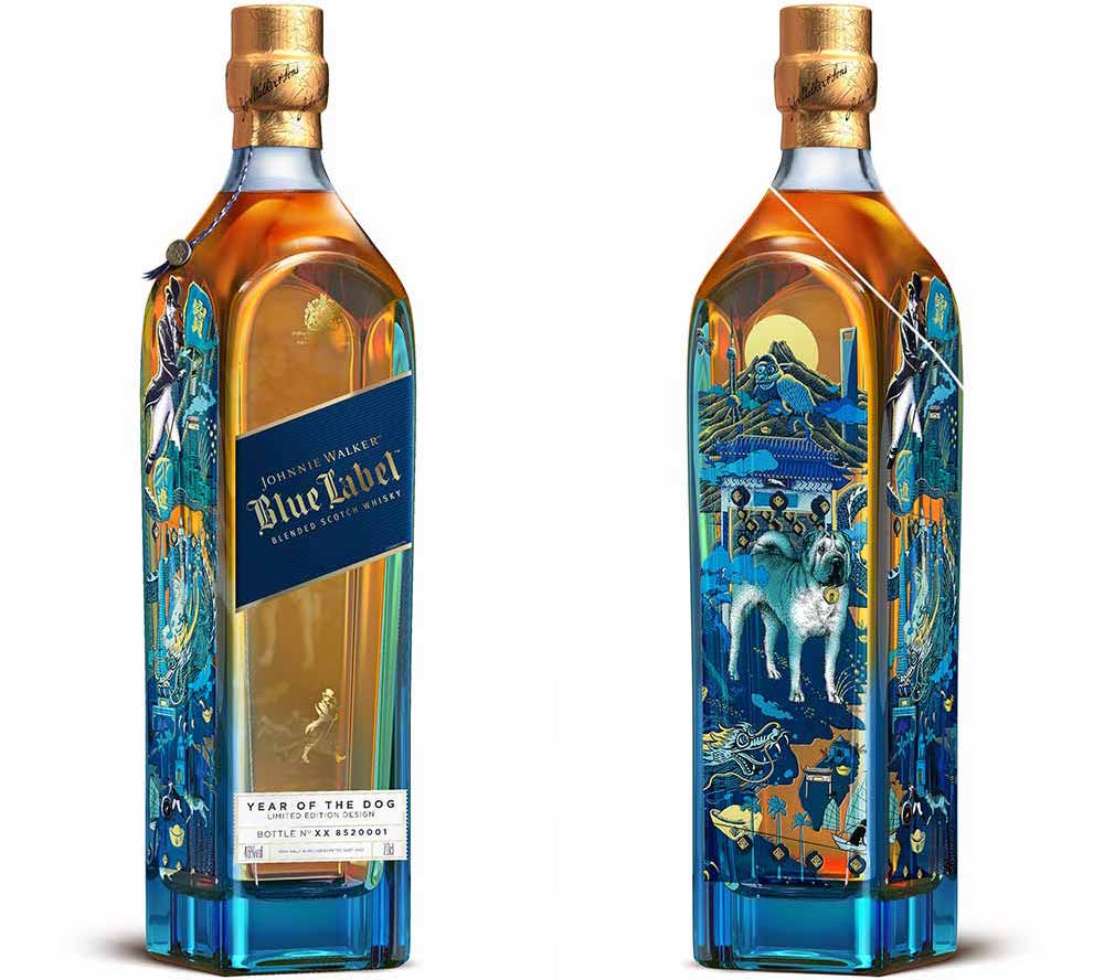 Johnnie walker celebrates the chinese new year with blue label year for buycottarizona Choice Image