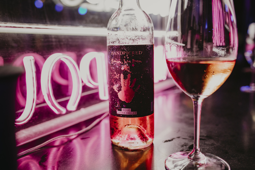 Romance was born and Handpicked Wines collaboration