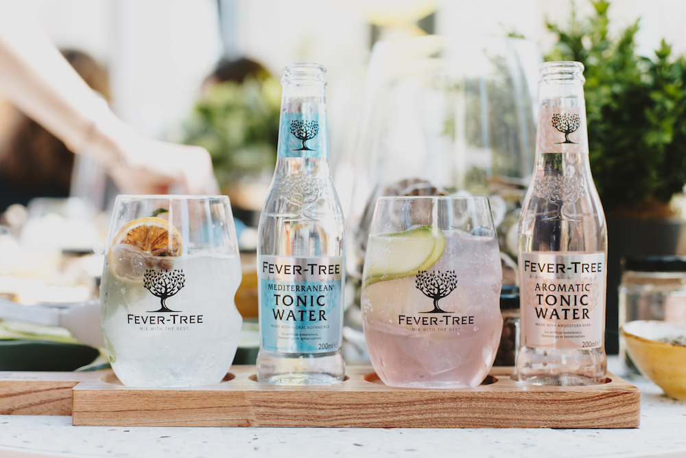 Fever-Tree premium mixer. Perfect with a G&T