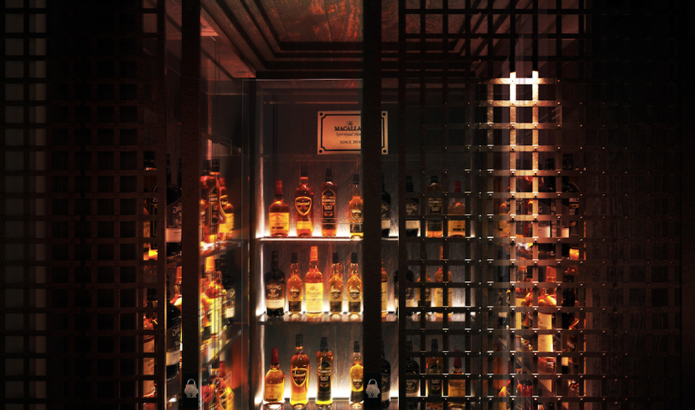 Whisky Bar Hong Kong located on Hollywood Road